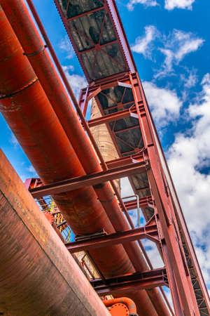 Kokerei building inside of the industrial complex Zollverein in Essen, Germany