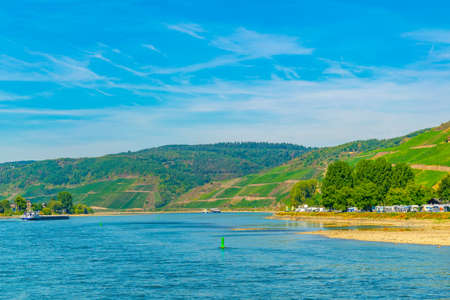 River Rhein near Boppard in Germany