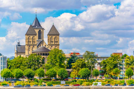 Saint Kunibert church in Cologne, Germany