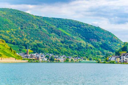 Riverside of Mosel near Koblenz, Germany