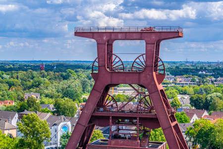 Aerial view of Zollverein industrial complex in Essen, Germany Imagens