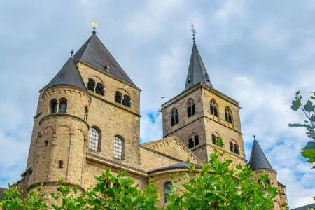 Cathedral in Trier, Germany 스톡 콘텐츠