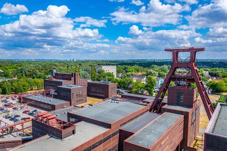 Luftaufnahme des Industriekomplexes Zollverein in Essen, Deutschland