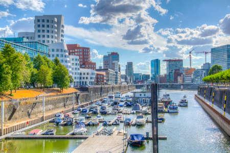 Hafen district in Dusseldorf, Germany