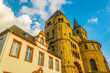 Cathedral in Trier, Germany Stock Photo
