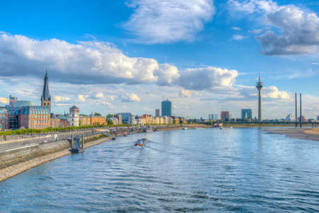 Cityscape of Dusseldorf, Germany