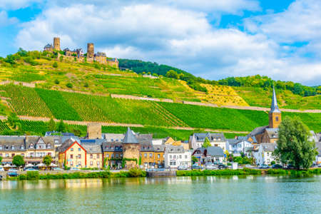 Burg Thurant above Alken town in Germany