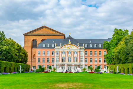 Electoral palace connected to the constantin basilica in Trier, Germany