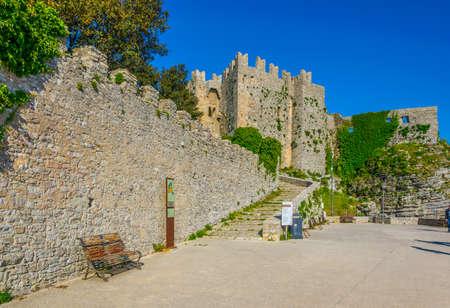 Castello di Venere in Erice, Sicily, Italy