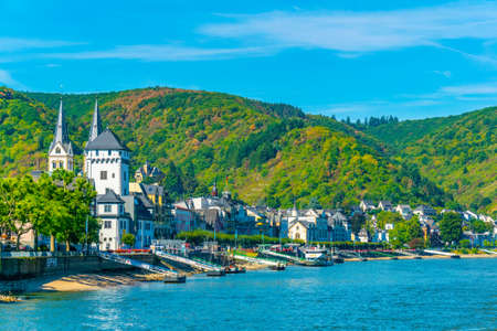 BOPPARD, GERMANY, AUGUST 16, 2018: Boppard town in Germany Editorial