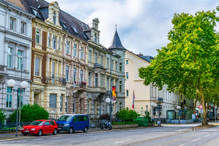 BONN, GERMANY, AUGUST 12, 2018: Historical houses in Bonn, Germany Editorial