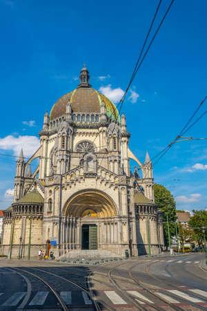 Saint Marie church in Brussels, Belgium Archivio Fotografico