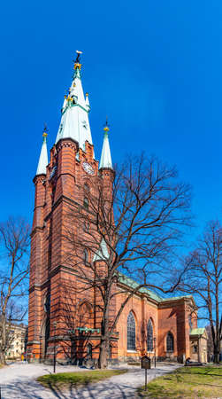 View of Saint Clara church in Stockholm, Sweden Stock fotó