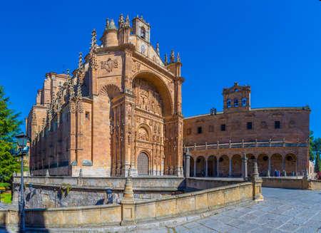 Convent of San Esteban at Salamanca, Spain Banque d'images
