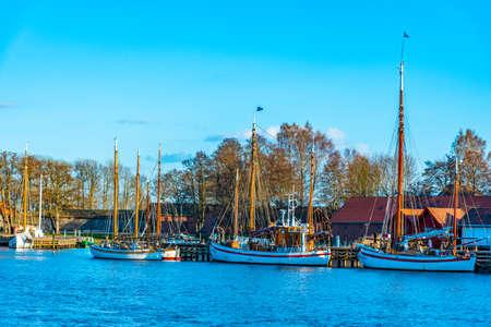 Port rekreacyjny w Fredrikstad, Norwegia
