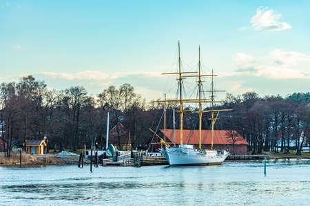 Recreational port in Fredrikstad, Norway