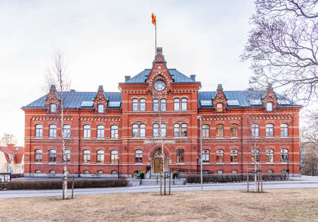 View of the church house in Sundsvall, Sweden