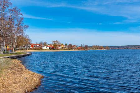 Norasjon lake near Nora in Sweden Standard-Bild