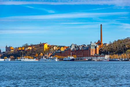 Munchenbryggeriet congress center in the swedish capital Stockholm. Banco de Imagens