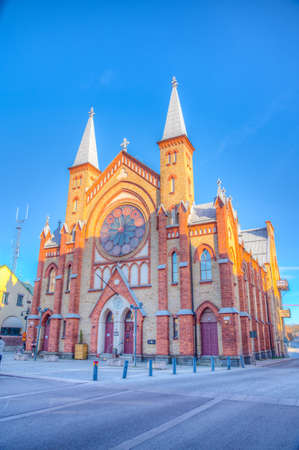 Music center in Gavle inside of a former church, Sweden