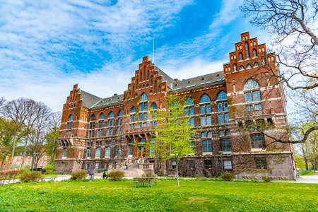 Bibliothèque universitaire de Lund, Suède