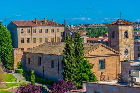 Church of Carmen de Abajo in Salamanca, Spain Banque d'images