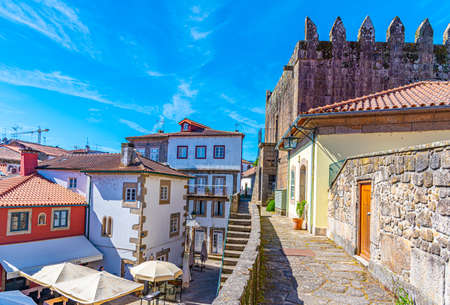 Fortification in the center of Ponte de Lima in Portugal