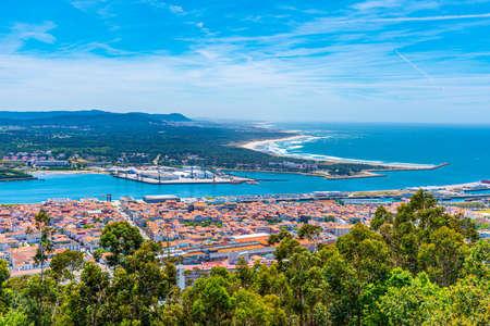 Luftaufnahme von Viana do Castelo in Portugal