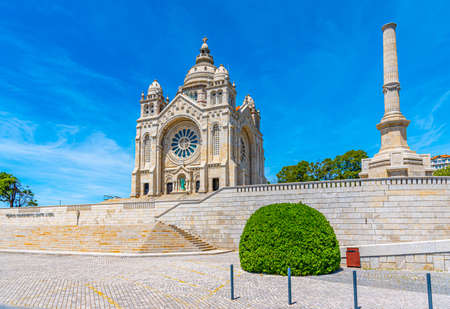 Sanctuary of Santa Luzia at Viana do Castelo in Portugal