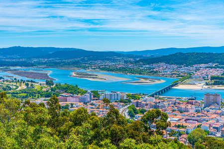 Cityscape of Viana do Castelo in Portugal