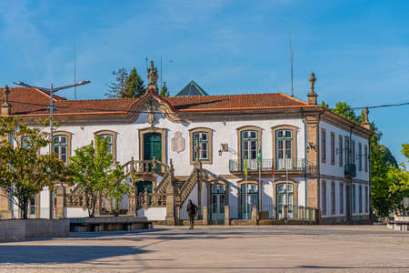 Municipality building in Vila Real, Portugal
