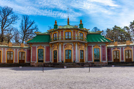 The Chinese Pavilion at the Drottningholm Palace in Sweden