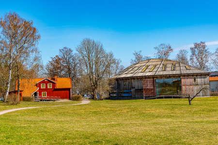 Museum of Gamla Uppsala in Sweden