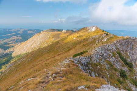 Pic Hajla aux montagnes Rugova au Kosovo