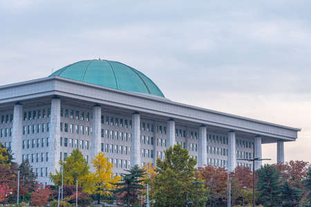 National Assembly in Seoul, Republic of Korea