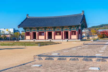 Jeongnimsa Temple Site in Buyeo, Republic of Korea