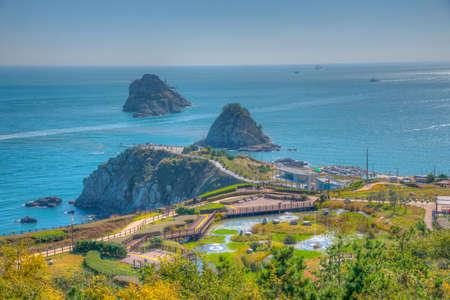 Oryukdo Island near busan, republic of korea