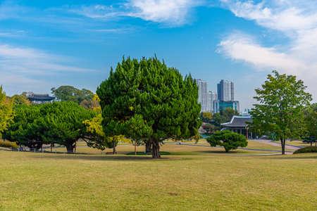 Dalseong park at Daegu, Republic of Korea