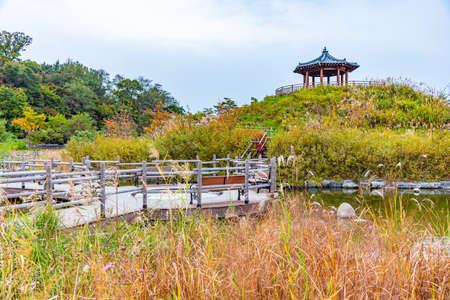 Park at Wolmido island in Incheon, republic of Korea