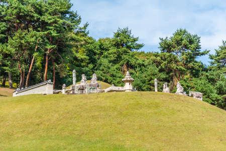Donggureung royal tomb complex near Seoul, Republic of Korea