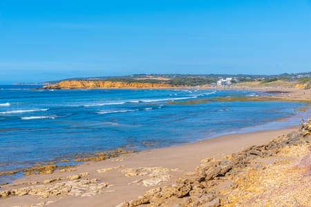 Surfers at a sea in Torquay, Australia 版權商用圖片