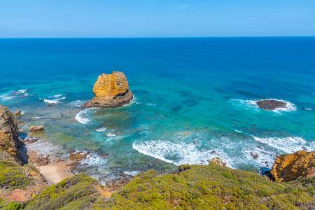 Eagle岩石海洋保护区天然景观在澳大利亚