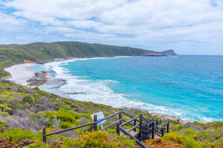 Cable beach at Torndirrup National Park, Australia Stock Photo