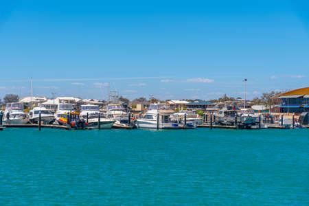 Marina at Geraldton in Australia
