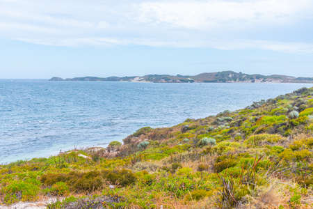 Porpoise bay at Rottnest island in Australia