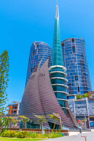 The bell tower in Perth, Australia