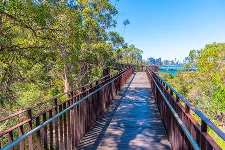 Federation Walkway at Kings park and botanic garden in Perth, Australia