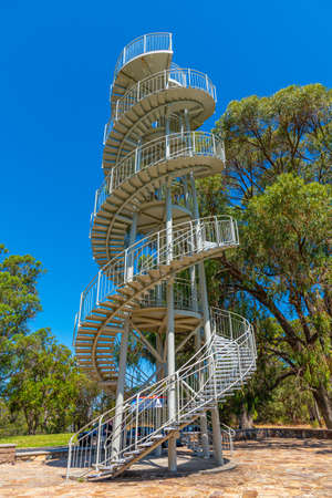 DNA Tower at Kings Park and Botanic Garden in Perth, Australia