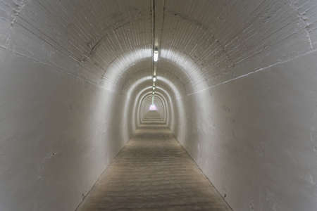 Tunnel leading to Durie Hill Elevator at Whanganui, New Zealand