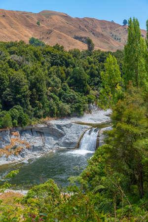 Ruakawa falls in New Zealand